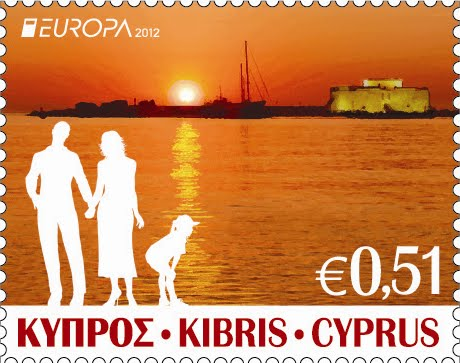 2012 Cyprus Europa Stamps Visit 51c value