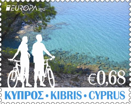 2012 Cyprus Europa Stamps Visit 68c value