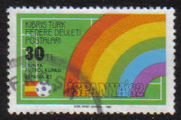 North Cyprus Stamps SG 130 1982 30tl - USED (g125)