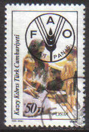 North Cyprus Stamps SG 194 1986 50tl - USED (g130)