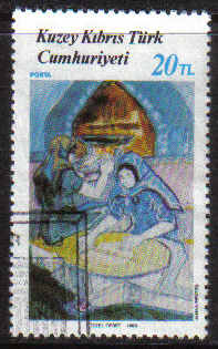 North Cyprus Stamps SG 225 1988 20tl - USED (g135)