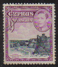 Cyprus Stamps SG 159 1938 KGVI 9 Piastres - USED (g218)