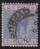 Cyprus Stamps SG 094 1922 Two 3/4 Piastres - USED (g203)