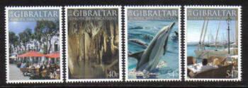 Gibraltar Stamps SG 1072-75 2004 Europa Holidays - MINT