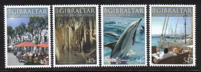 Gibraltar Stamps SG 1072-75 2004 Europa Holidays - MINT