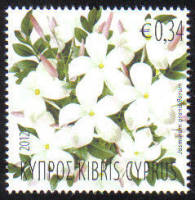 Cyprus Stamps SG 1277 2012 Aromatic Flowers Jasmine - MINT