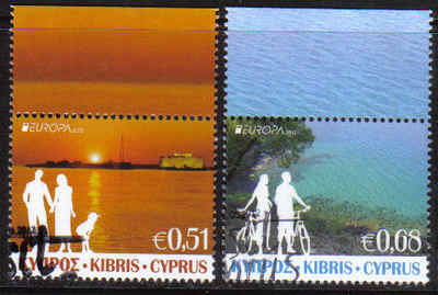 Cyprus Stamps SG 2012 (e) Europa Visit Cyprus - CTO USED (g252)