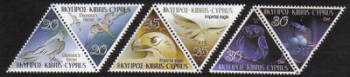 Cyprus Stamps SG 1058-63 2003 Birds of prey - MINT