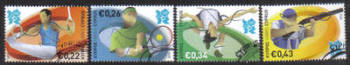 Cyprus Stamps SG 1270-73 2012 London Olympic Games - USED (g293)