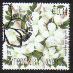 Cyprus Stamps SG 2012 (d) Aromatic Flowers Jasmine - USED (g287)