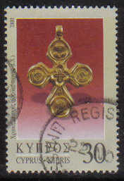 Cyprus Stamps SG 0988 2000 30c - USED (g366)