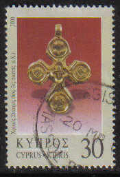Cyprus Stamps SG 0988 2000 30c - USED (g367)
