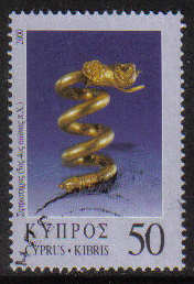 Cyprus Stamps SG 0991 2000 50c - USED (g377)