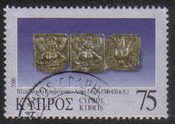 Cyprus Stamps SG 0992 2000 75c - USED (g380)