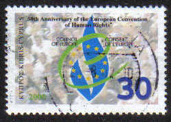 Cyprus Stamps SG 1004 2000 50th Anniversary of Human Rights - USED (g397)