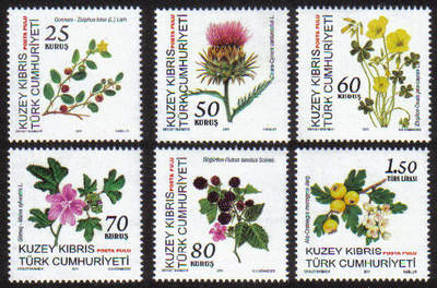 North Cyprus Stamps SG 2011 (g) Plant and Fruit - MINT