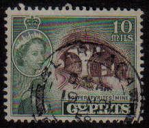 LARNACA Cyprus Stamps postmark - (g327)