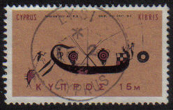 LYSI Cyprus Stamps postmark DS4 Date Single Circle - (e787)