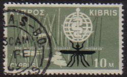 NICOSIA Cyprus Stamps postmark - (e810)