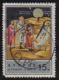 PEYIA Cyprus Stamps postmark DS7 Date Single Circle - (e774)