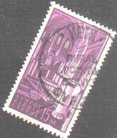 YERI Cyprus Stamps postmark RP1 Rural Postal Service - (e552)