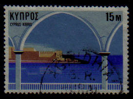 AGRIDHIA Cyprus Stamps Postmark GR Rural Service - (g422)