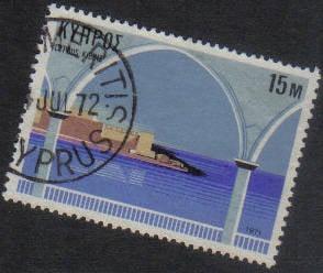 ASTROMERITIS Cyprus Stamps postmark DS7 Date Single Circle - (g468)