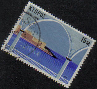 KALAVASOS Cyprus Stamps postmark DS7 Date Single Circle - (g466)