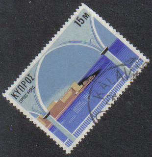 KALAVASOS Cyprus Stamps postmark DS7 Date Single Circle - (g418)