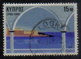 KALOGREA Cyprus Stamps postmark DD5 Datestamp Double Circle - (g471)