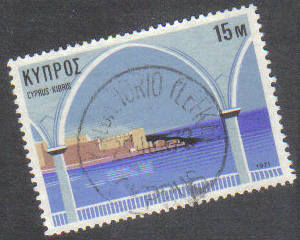KALOKHORIO (LEFKA) Cyprus Stamps postmark DS7 Date Single Circle - (g417)