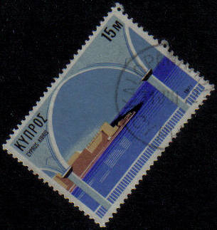 KALOPANAYIOTIS Cyprus Stamps postmark DS7 Date Single Circle - (g469)