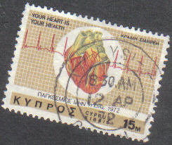 LYSI Cyprus Stamps postmark DD7 Datestamp Double Circle - (g438)