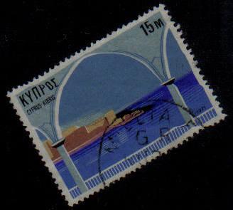 MILLIA FA Cyprus Stamps Postmark GR Rural Service - (g426)