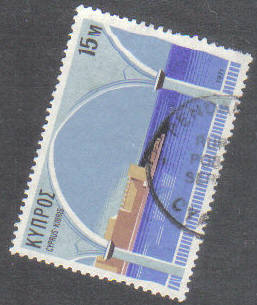 PENDAKOMO Cyprus Stamps postmark RP4 Rural Postal Service - (g420)