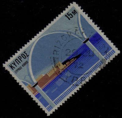 RIZOKARPASO Cyprus Stamps postmark DD3 Datestamp Double Circle - (g410)
