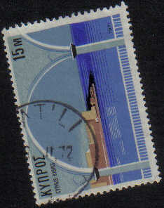VATILI Cyprus Stamps postmark DS7 Date Single Circle - (g467)