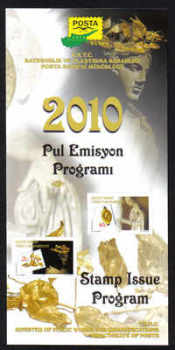 North Cyprus 2010 Stamp issue program