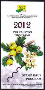 North Cyprus 2012 Stamp issue program
