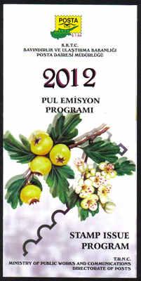 North Cyprus 2012 Stamp issue program