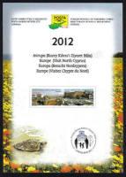 North Cyprus Stamps Leaflet 257 2012 Europa Visit