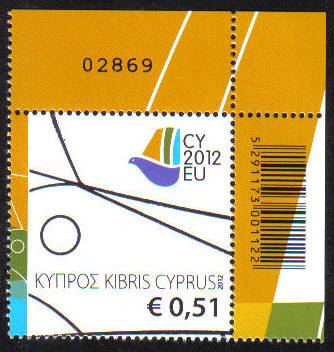 Cyprus Stamps SG 2012 (f) Cyprus Presidency of the Council of the EU Contro
