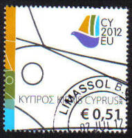 Cyprus Stamps SG 1279 2012 Cyprus Presidency of the Council of the EU - USED (g482)