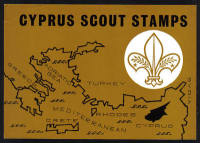 Cyprus Stamps Leaflet 1963 50th Anniversary of the Boy Scout movement in Cyprus