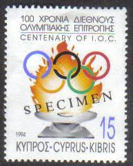 Cyprus Stamps SG 850 1994 15c - Specimen MH (g500)