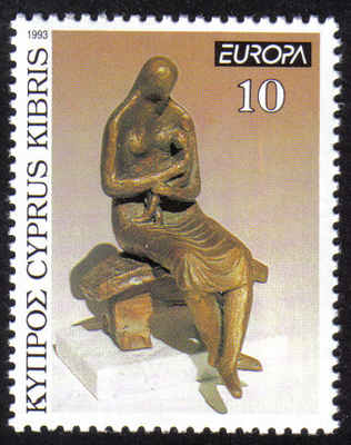 Cyprus Stamps SG 831 1993 10c - MINT