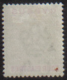 Cyprus stamps SG 54 Four Piastres. Small red dot on back of stamp