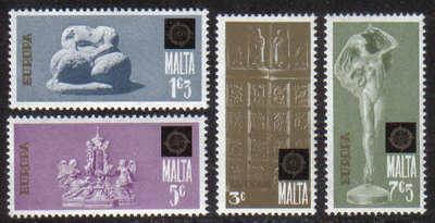 Malta Stamps SG 0523-26 1974 Europa - MINT