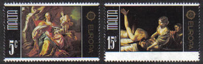 Malta Stamps SG 0543-44 1975 Europa - MINT