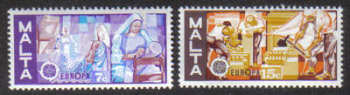 Malta Stamps SG 0562-63 1976 Europa - MINT